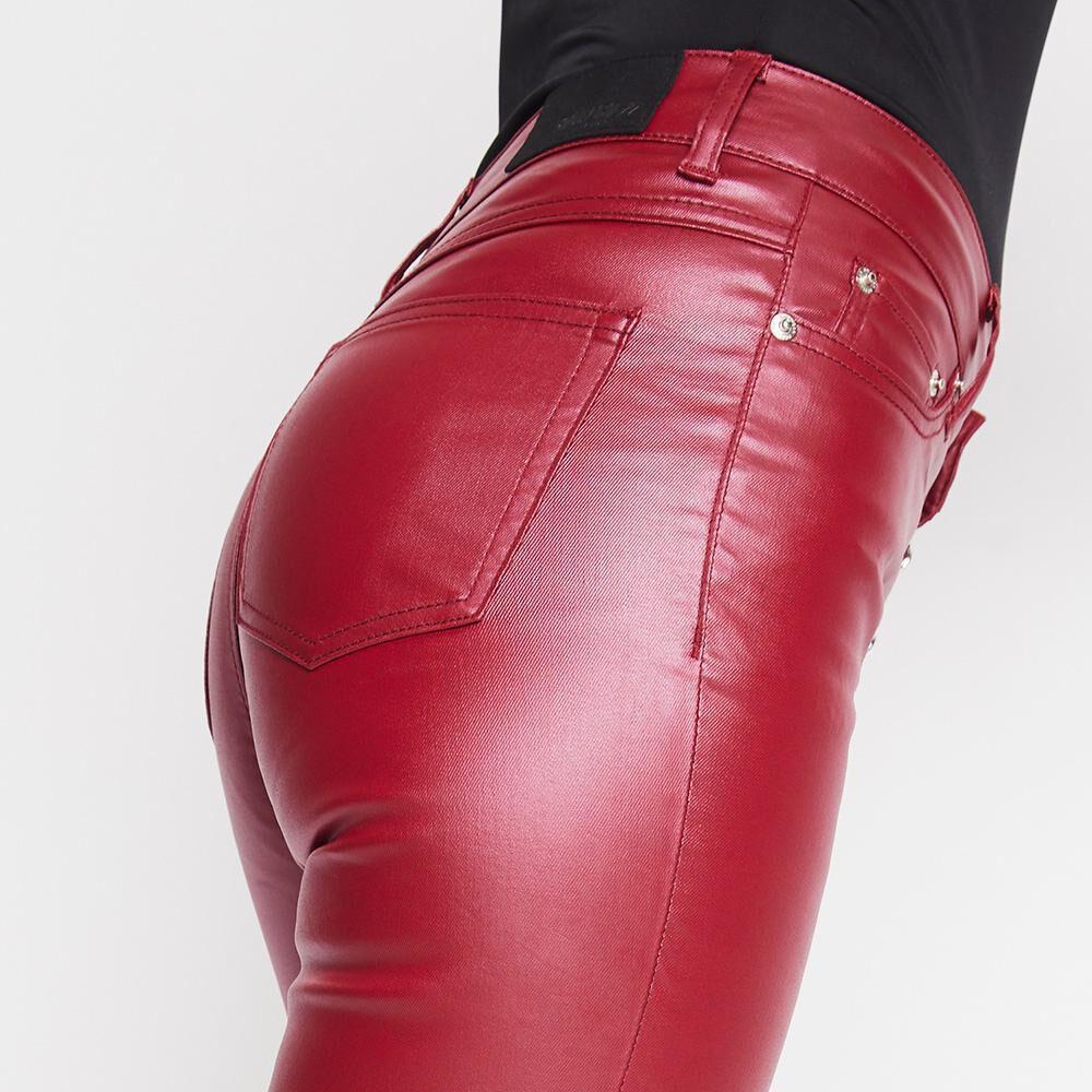 Pantalón Mujer Tiro Alto Super Skinny Rolly Go image number 5.0