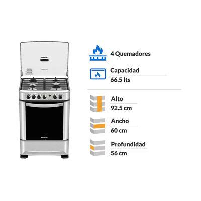 Cocina Mabe ANDES60TX3 / 4 Quemadores