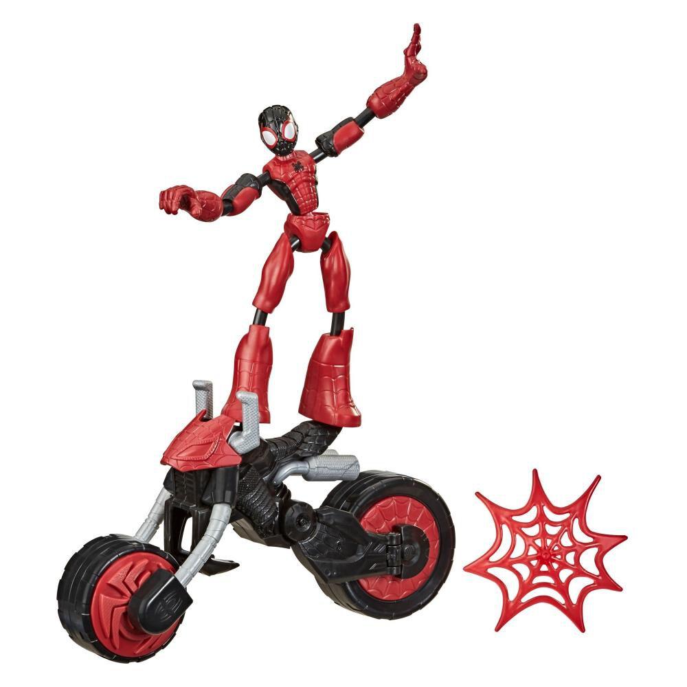 Figura De Acción Spiderman Flex Rider Spiderman image number 0.0