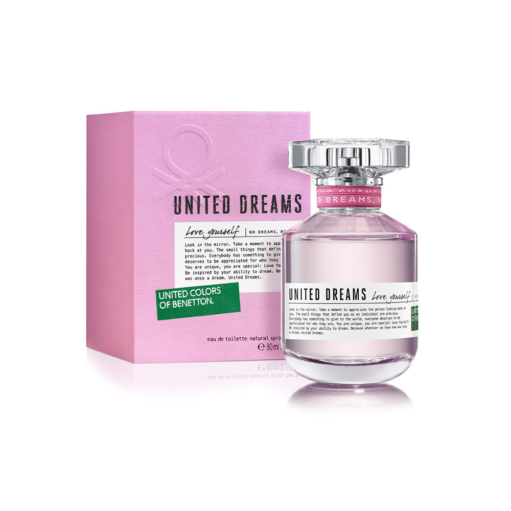 Perfume Benetton United Dreams Love Yourself / 80 Ml / Edt / image number 0.0