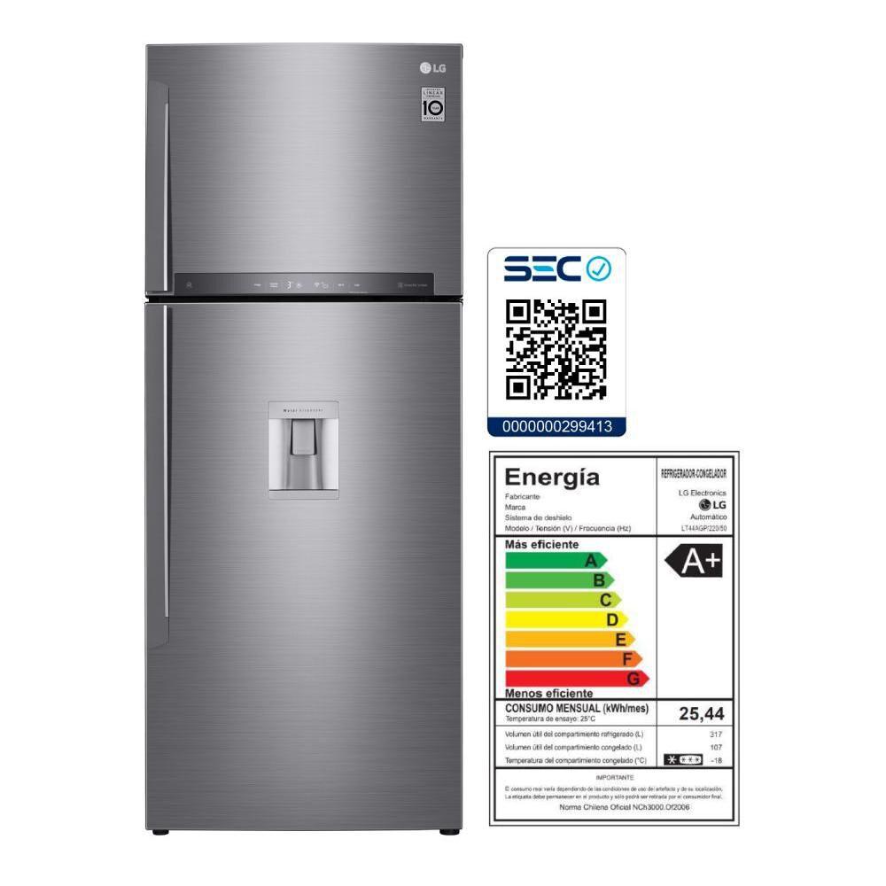 Refrigerador Top Freezer Lg LT44AGP / No Frost / 424 Litros, 401 A 600 Litros image number 11.0
