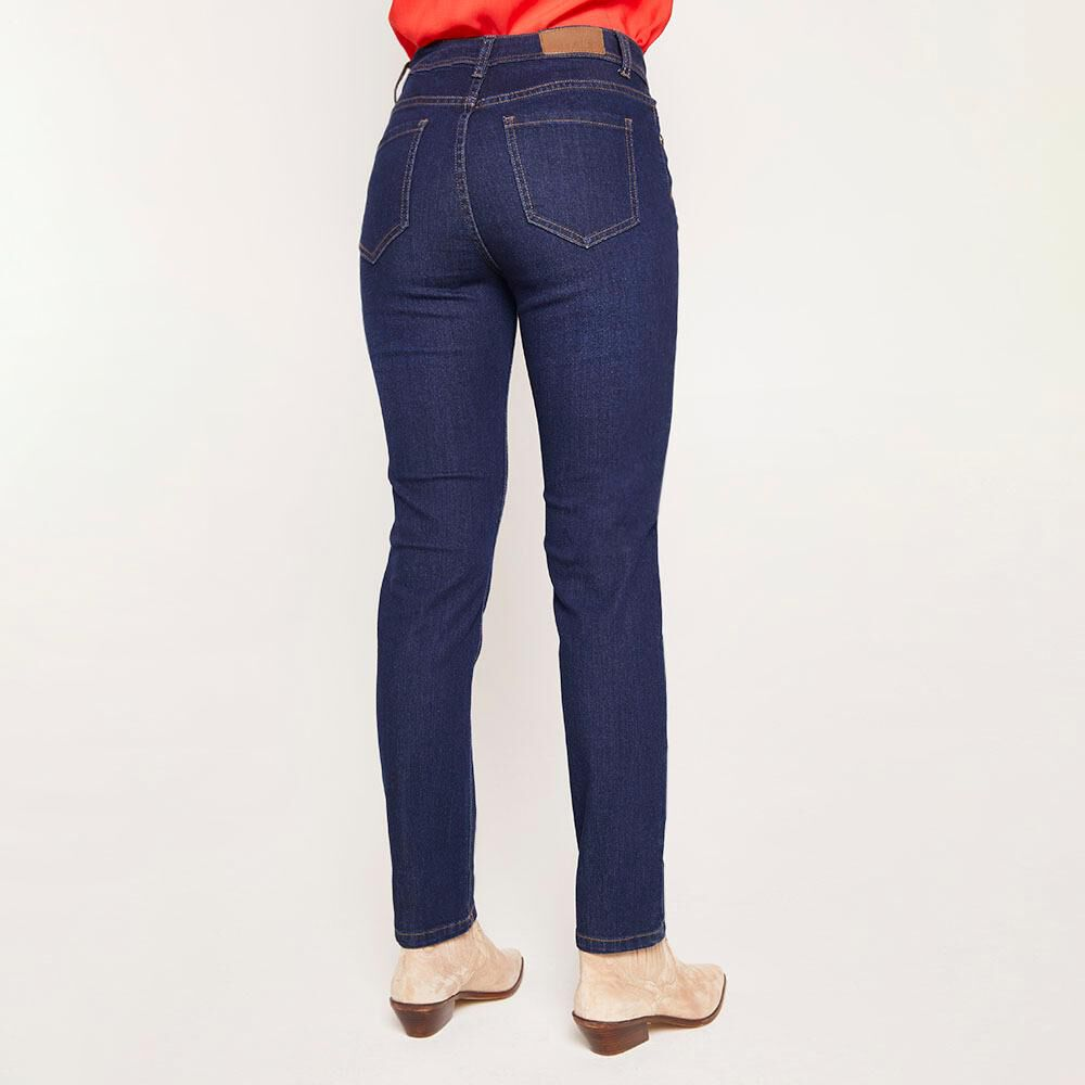 Jeans Tiro Medio Skinny Mujer Geeps image number 2.0