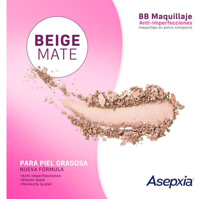 Maquillaje Polvo Asepxia Canela Nf