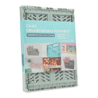 Caja Organizadora Casaideal Pequeña Verde