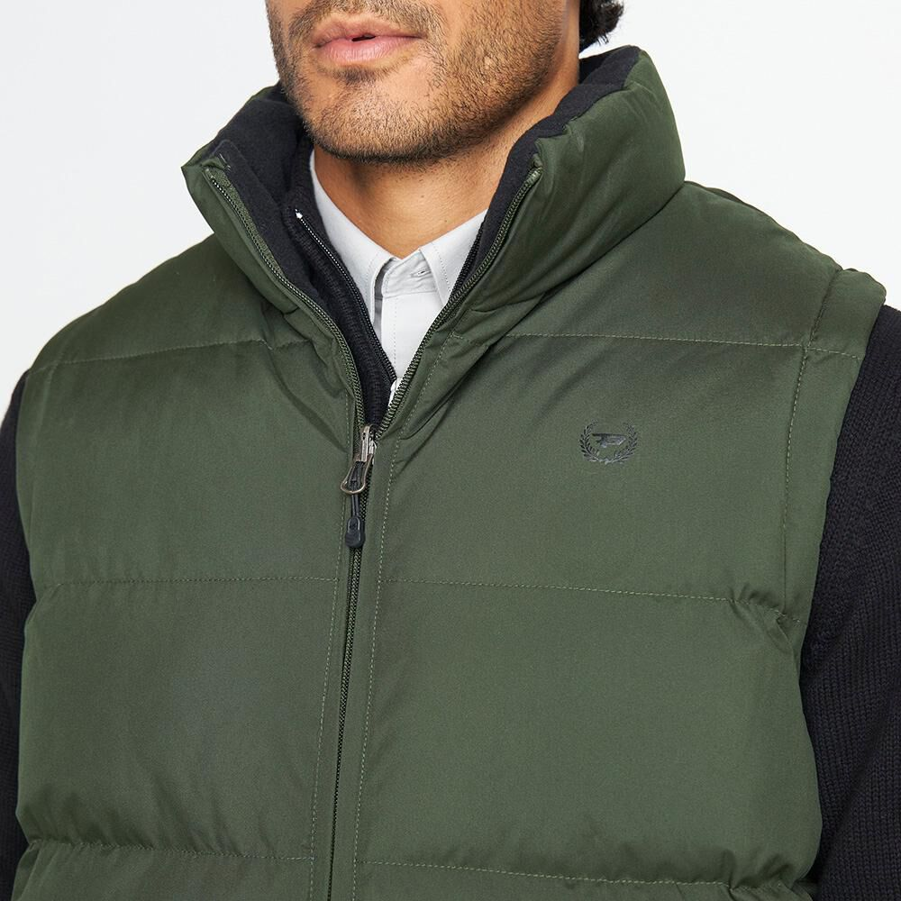 Parka Sin Mangas Reversible Hombre Peroe image number 3.0