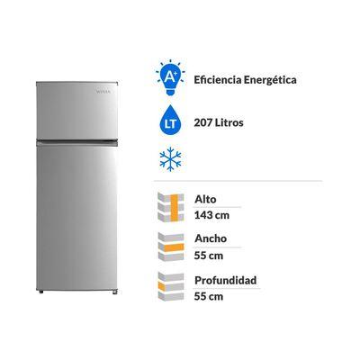 Refrigerador Winia Frío Directo, Top Mount Fd-240s 207 Litros