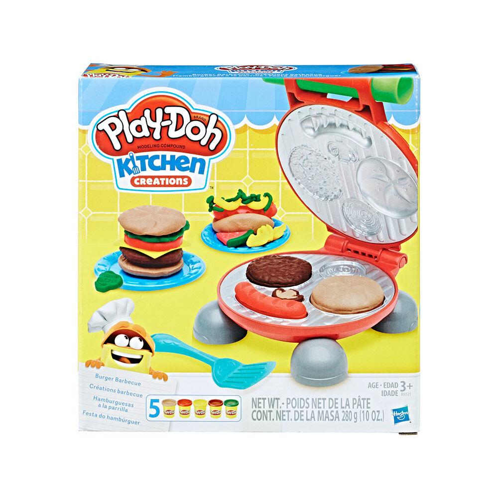 Juego Didáctico Hasbro Play Doh Burger image number 0.0