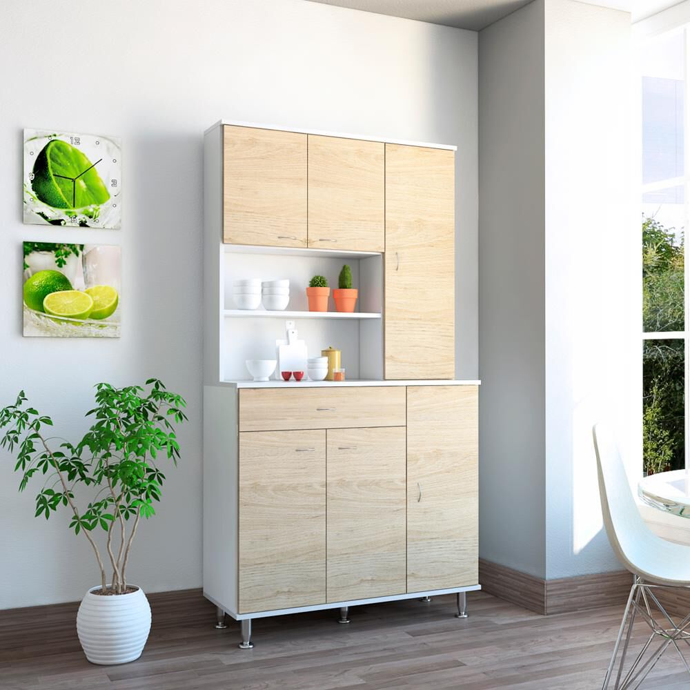 Mueble De Cocina Casaideal Kitchen / 6 Puertas / 1 Cajon image number 4.0