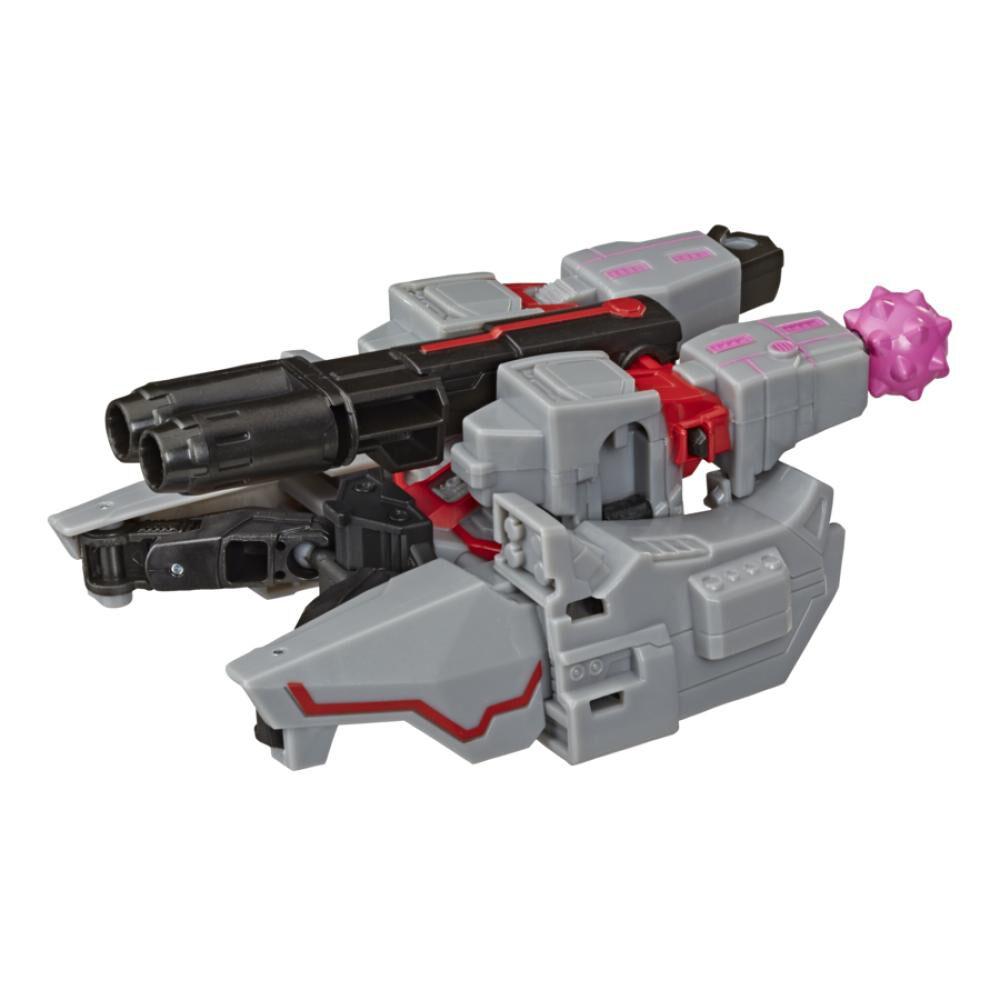 Figura De Accion Transformers Cyberverse Warrior Megatron image number 1.0