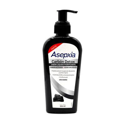 Jabón Líquido Asepxia Carbón