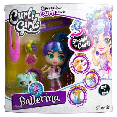 Muñeca Curligirl Mascota Deluxe Ballerina