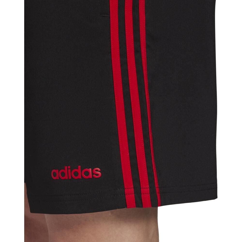 Short Deportivo Hombre Adidas Essentials 3 Stripes 7in Chelsea image number 5.0