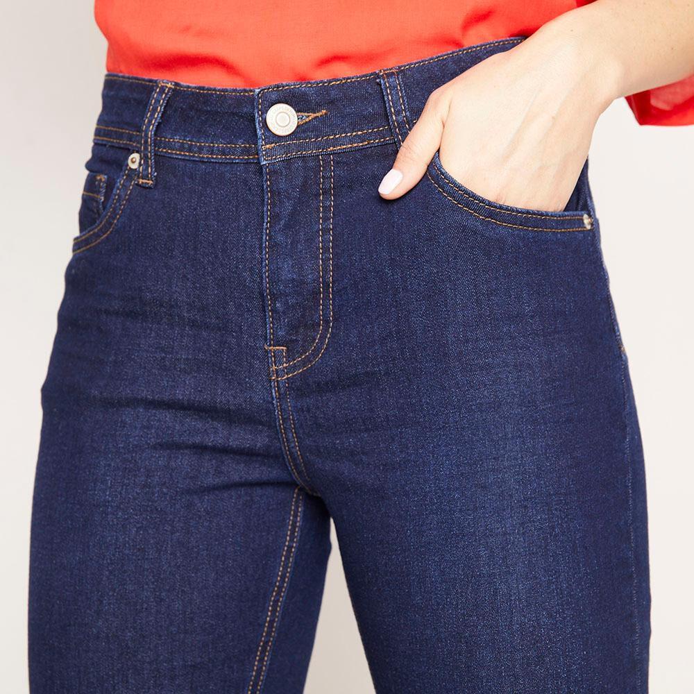 Jeans Tiro Medio Skinny Mujer Geeps image number 3.0