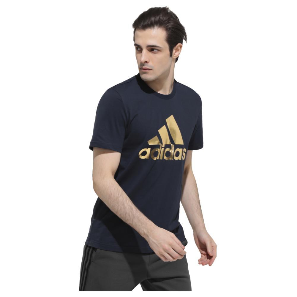 Camiseta 8-bit Graphic Foil Hombre Adidas image number 2.0