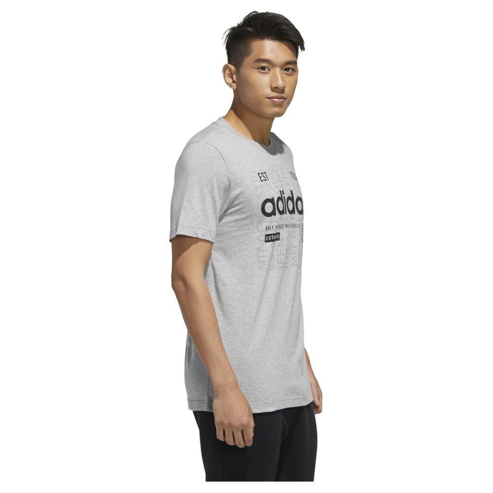 Camiseta Adi International Hombre Adidas image number 1.0