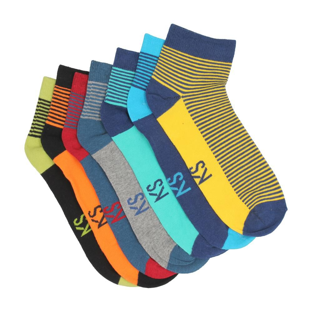 Pack 7 Calcetines Unisex image number 1.0