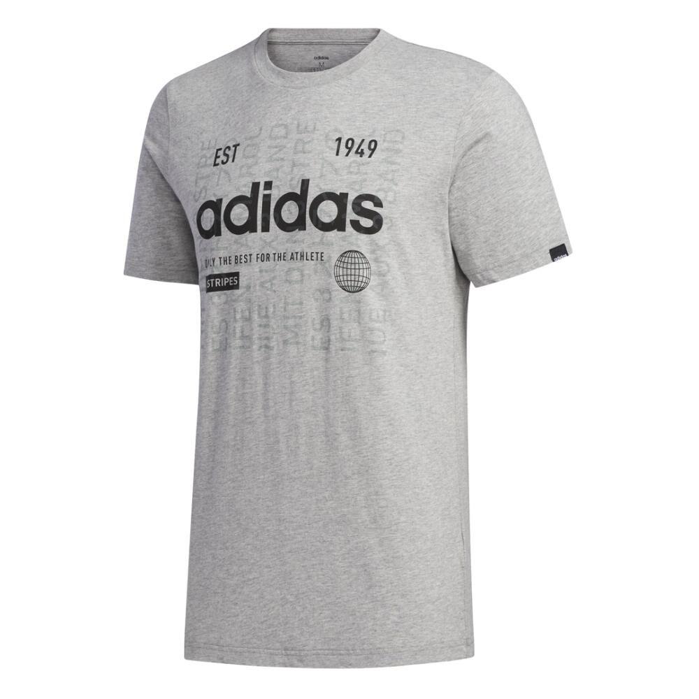 Camiseta Adi International Hombre Adidas image number 7.0