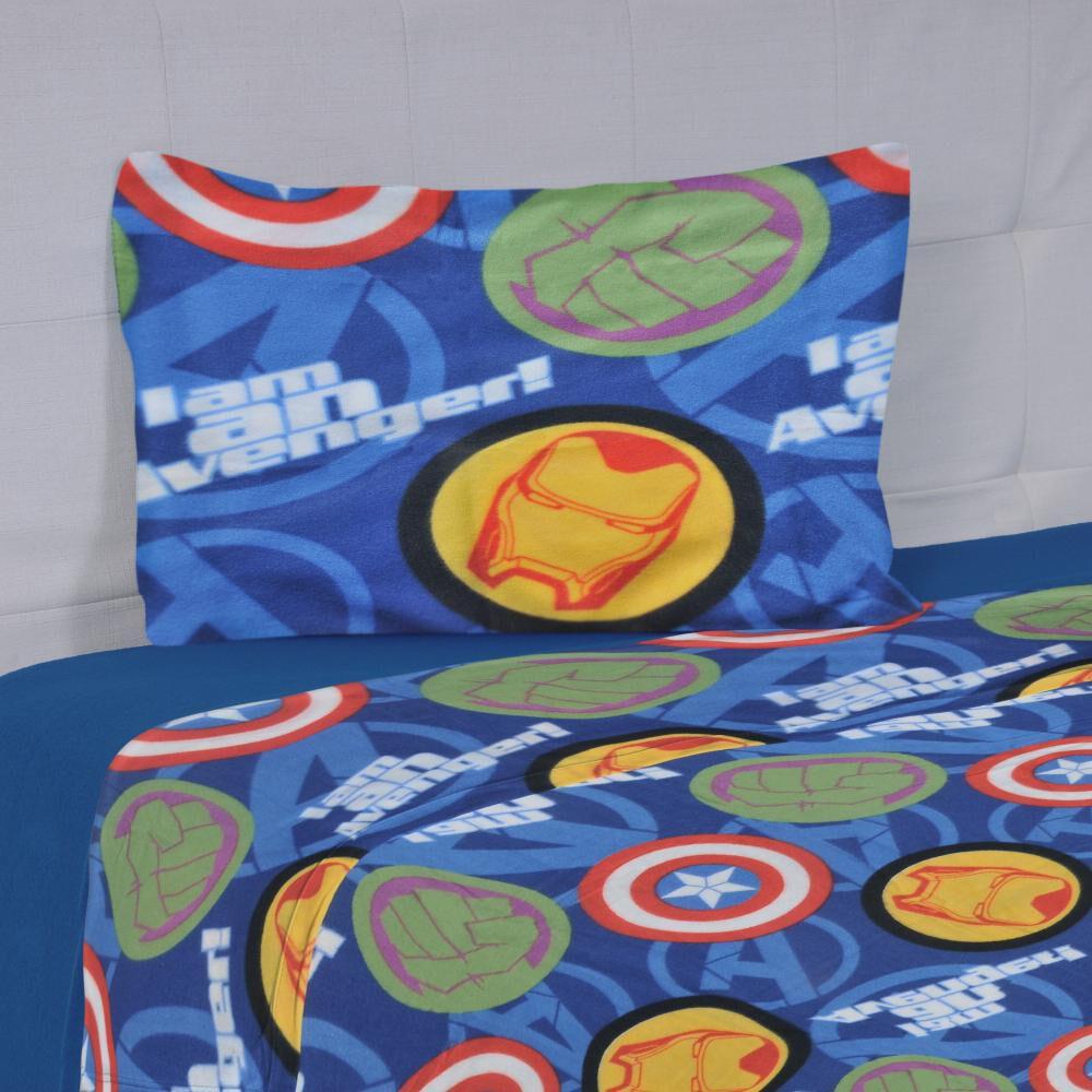 Juego De Sabanas Polar Disney Avengers / 1.5 Plazas image number 0.0