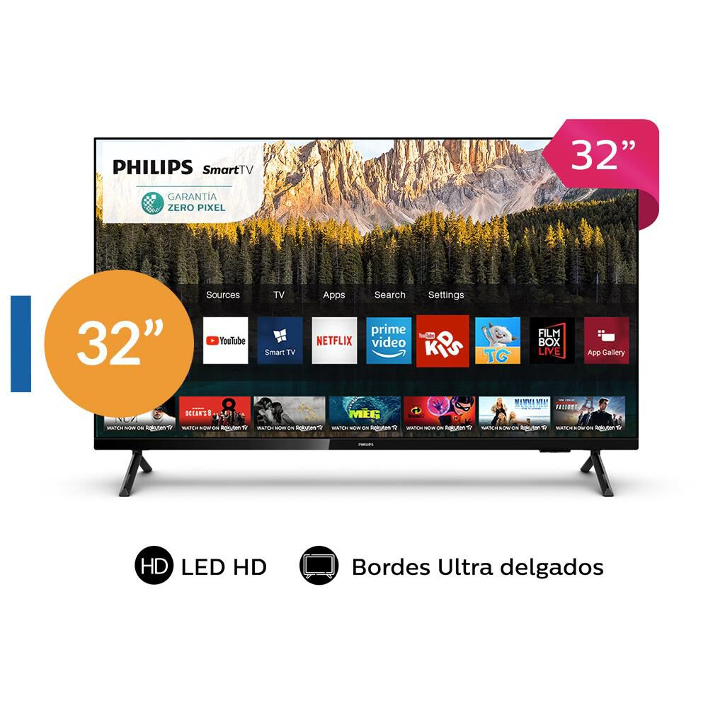 """Led Philips PHD6825 / 32 """" / HD / Smart Tv image number 0.0"""