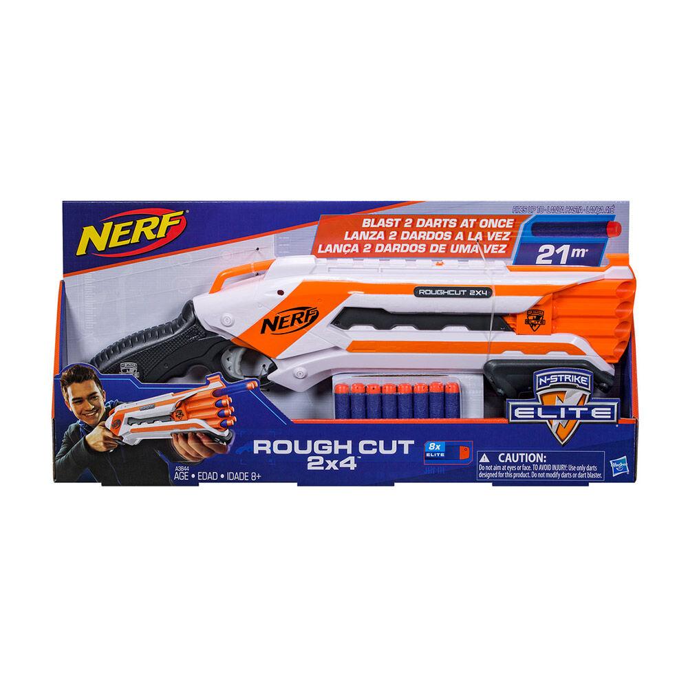Pistola De Juguete Hasbro Nerf N Strike Elite Rough Cut image number 1.0