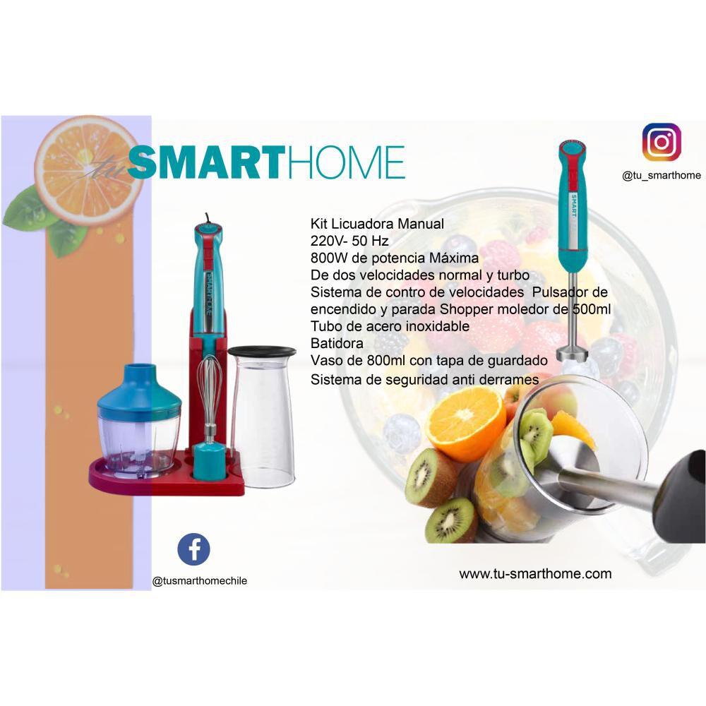 Mini Pimer Tusmarthome Smart Mixer / Vaso 800ml/picador 500ml image number 8.0
