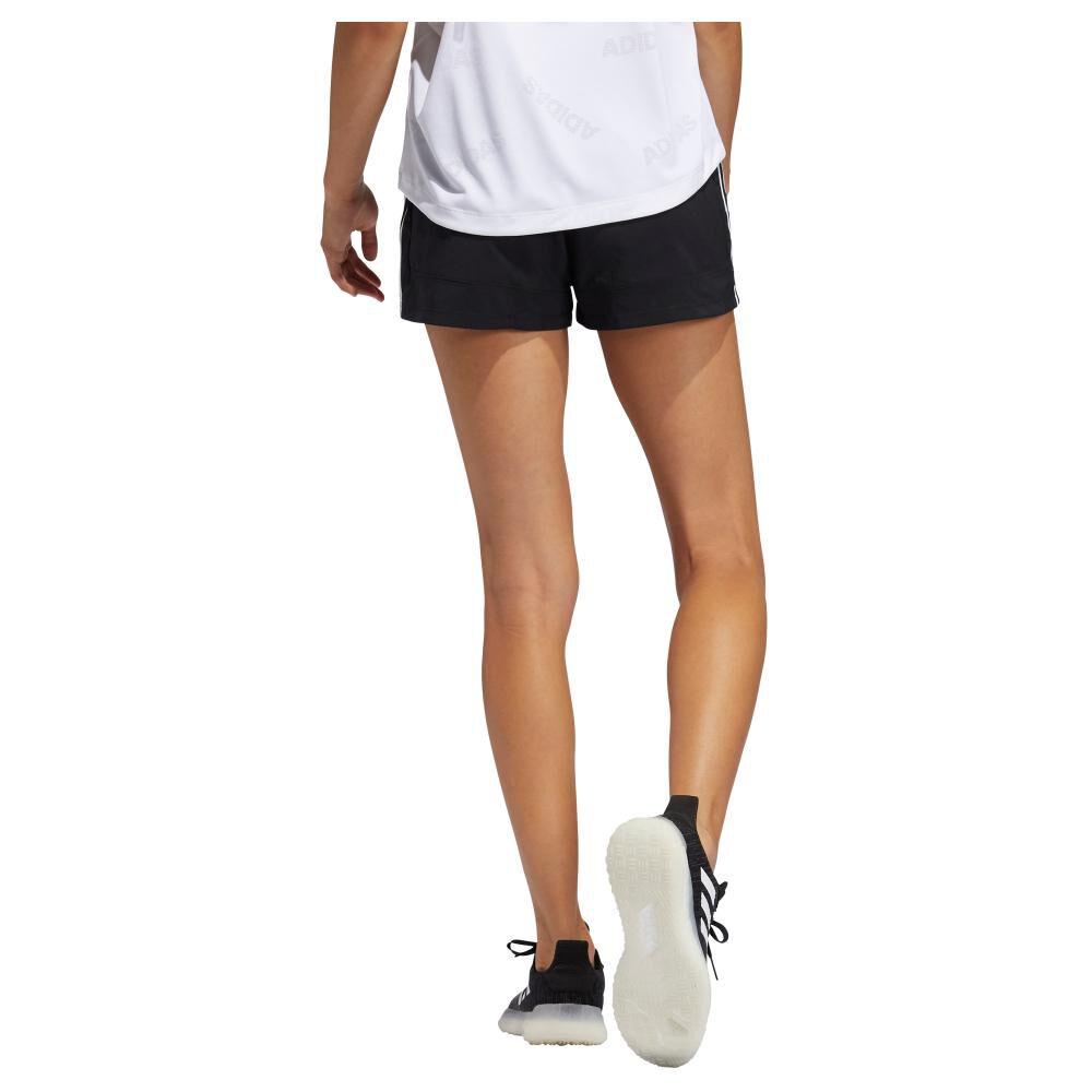 Short Deportivo Mujer Adidas Woven Pacer 3 Bandas image number 1.0