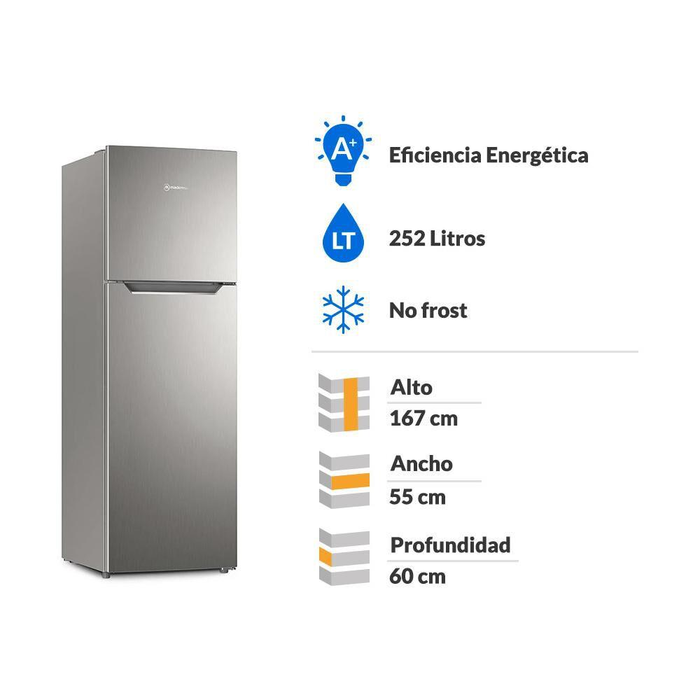 Refrigerador Top Freezer Mademsa Altus 1250 / No Frost / 251 Litros image number 1.0