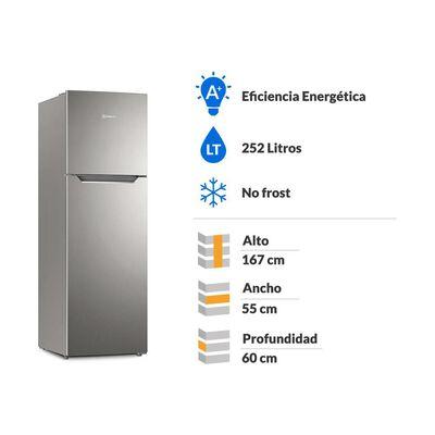 Refrigerador Top Freezer Mademsa Altus 1250 / No Frost / 251 Litros