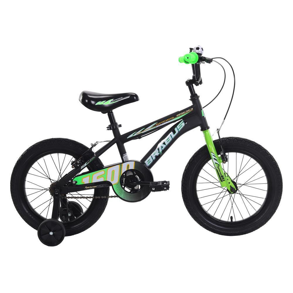 Bicicleta Infantil Brabus Spider 1600st / Aro 16 image number 0.0