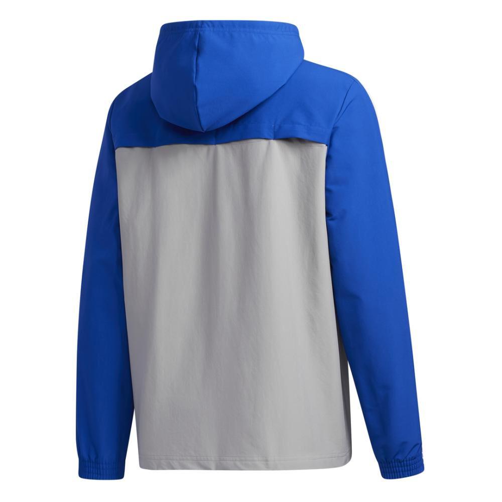 Polerón Deportivo Hombre Adidas Essentials Windbreaker image number 8.0