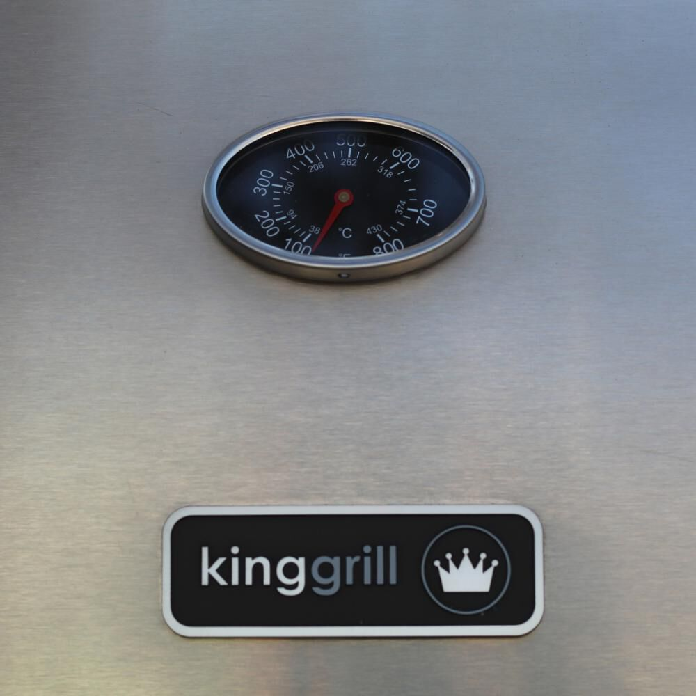 Parrilla A Gas Kinggrill 70108 image number 5.0