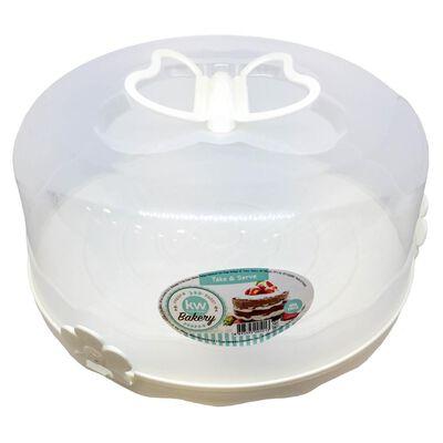 Contenedor Kw Torta   / 2 Piezas