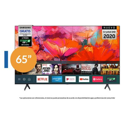 Led Samsung TU6900 / 65'' / Crystal UHD 4K / Smart Tv 2020
