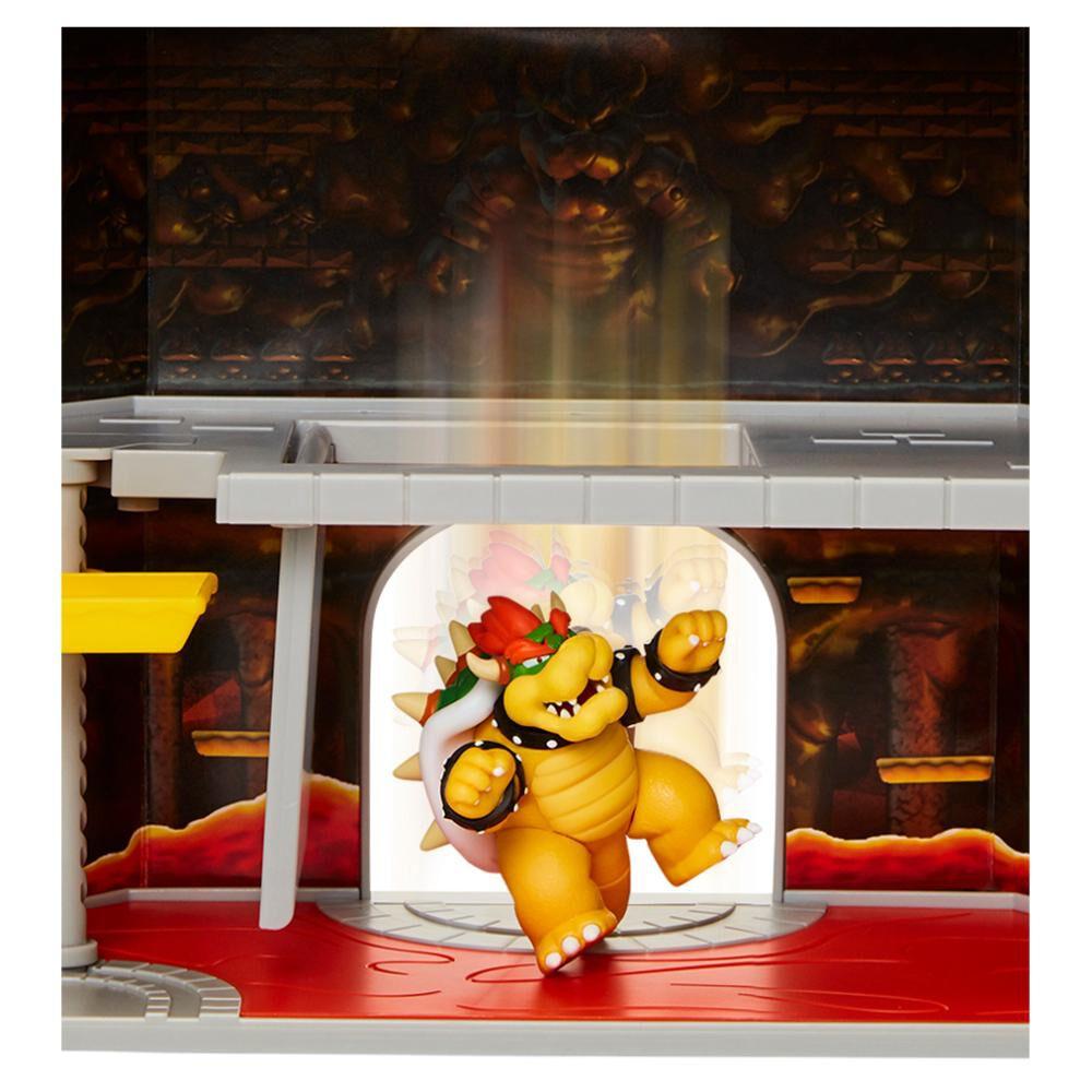 Set De Juguetes Nintendo Super Mario Castillo Bowser image number 3.0