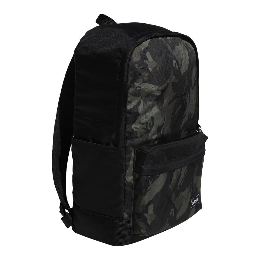 Mochila Unisex Adidas Classic Camo Backpack image number 1.0