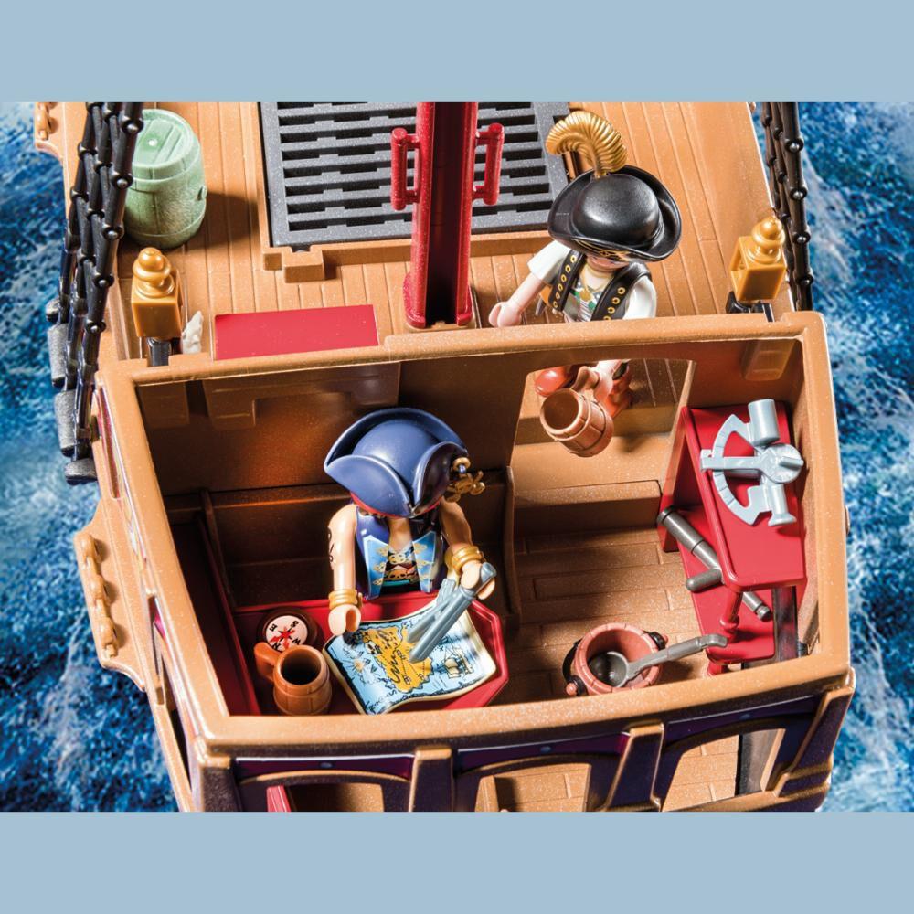 Figura De Acción Playmobil Barco Pirata Calavera image number 3.0
