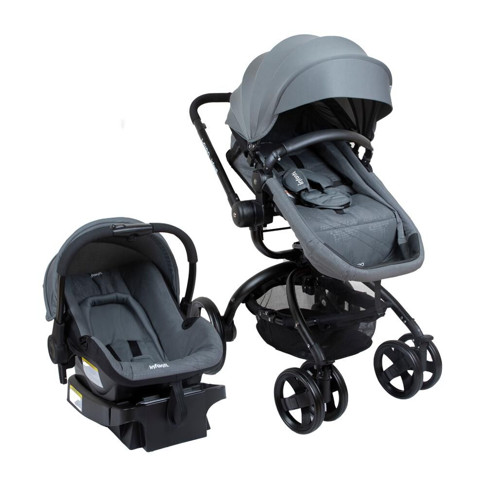 Coche Travel System Infanti I-giro Bright Grey image number 0.0