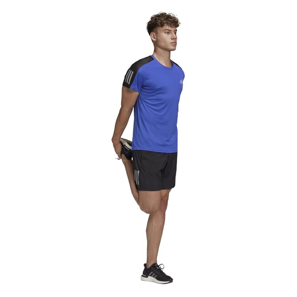 Polera Hombre Adidas Own The Run Tee Men image number 9.0