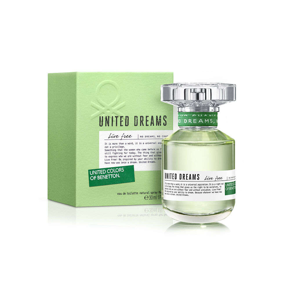 Perfume Benetton United Dreams Live Free / 30 Ml / Edt / image number 0.0