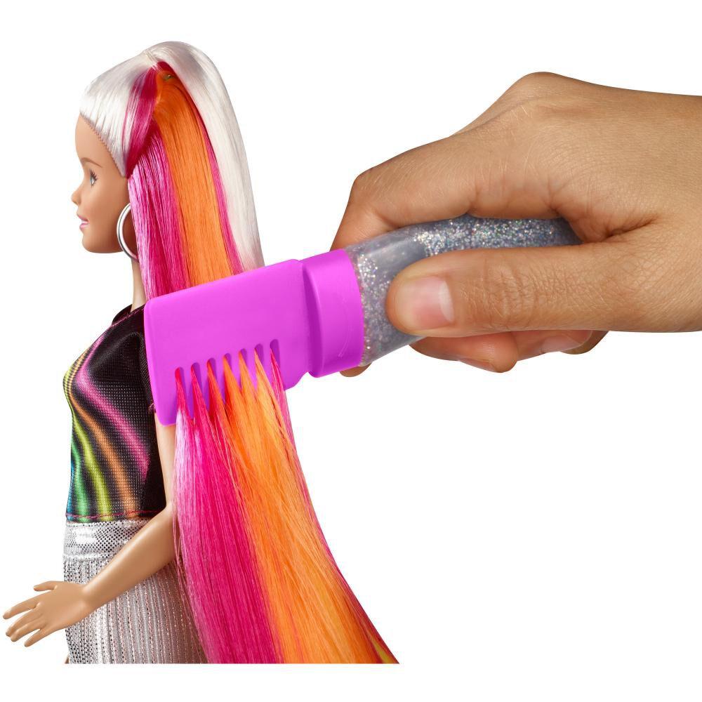 Muñeca Barbie Peinados De Arcoíris image number 2.0