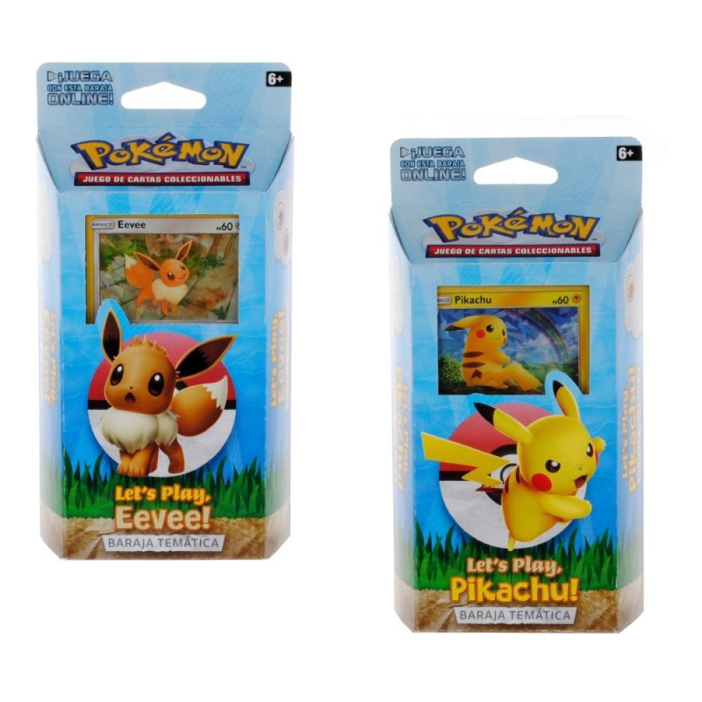 Juegos De Cartas Pokemon Mazo 60 Cartas Lets Play image number 0.0