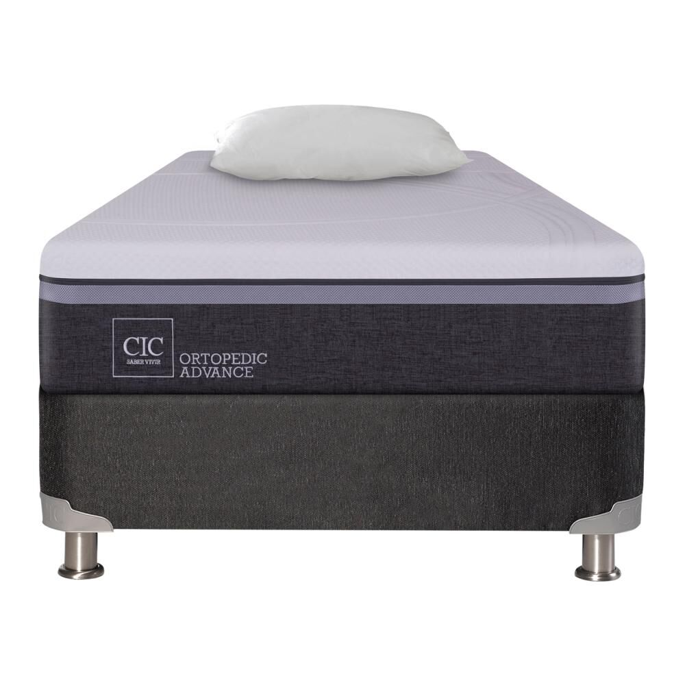 Box Spring Cic Ortopedic Advance 1.5 Plazas image number 0.0