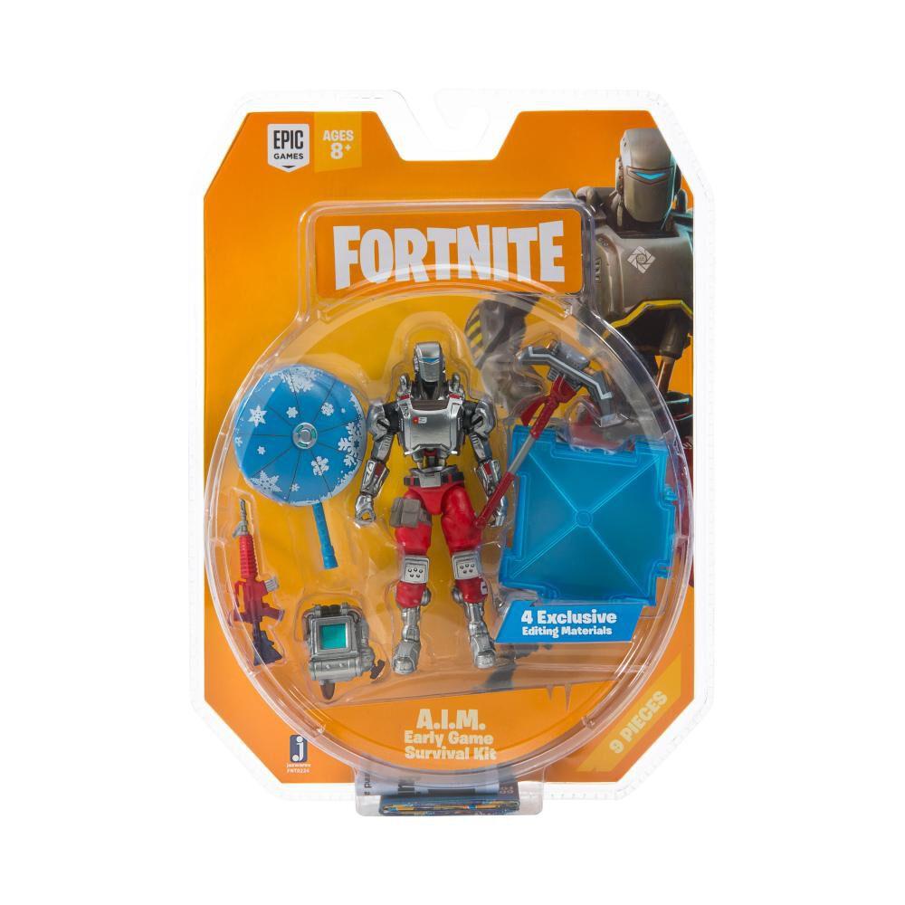 Figura De Accion Fortnite Early Game Survival Kit Con Figura A.I.M S3 image number 5.0