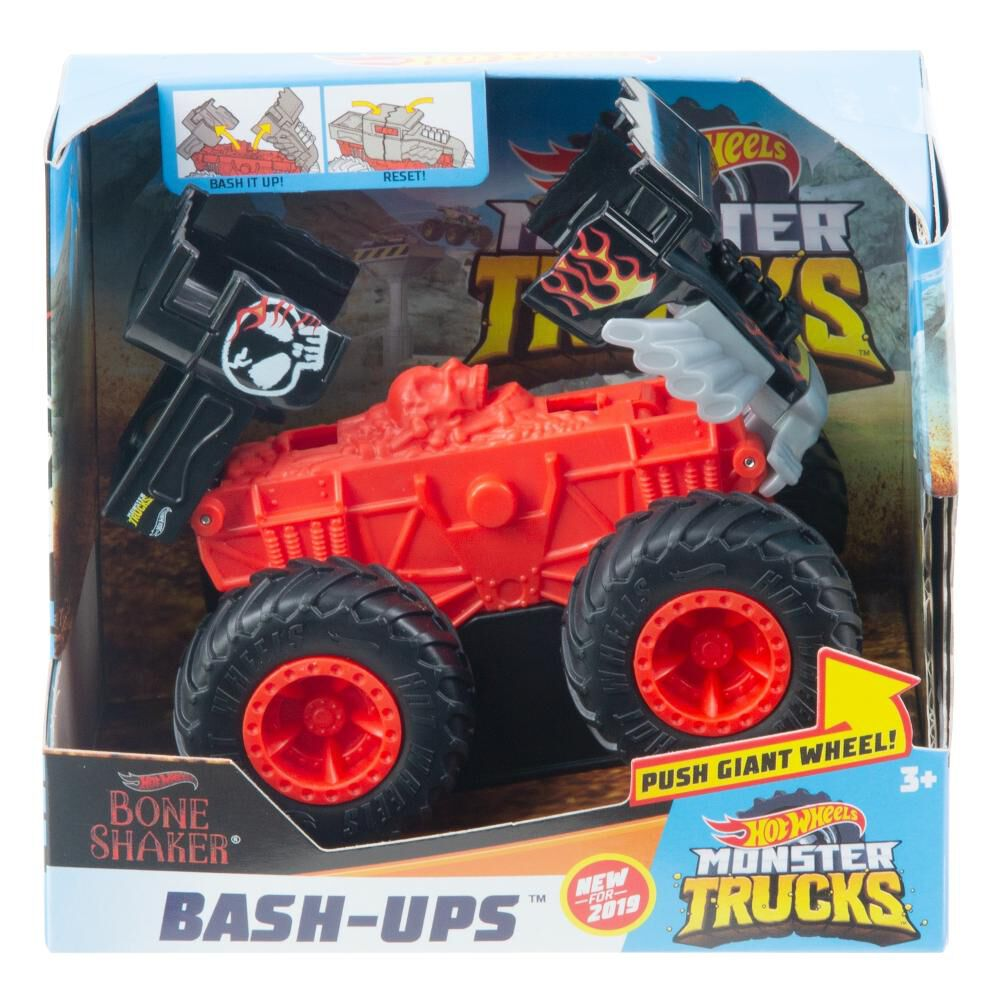 Auto De Juguete Hotwheels Monster Trucks 1:43 Surtido image number 2.0