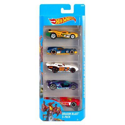 Auto De Juguete Hotwheels 5-Pack