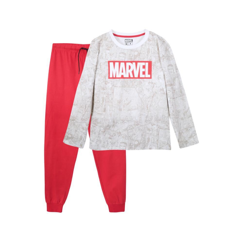 Pijama Largo Marvel / 2 Piezas image number 0.0