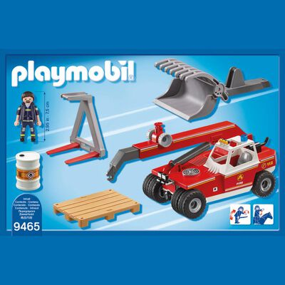 Figura De Acción Playmobil Elevador