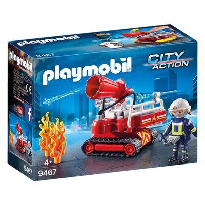 Figura De Acción Playmobil Robot De Extinción