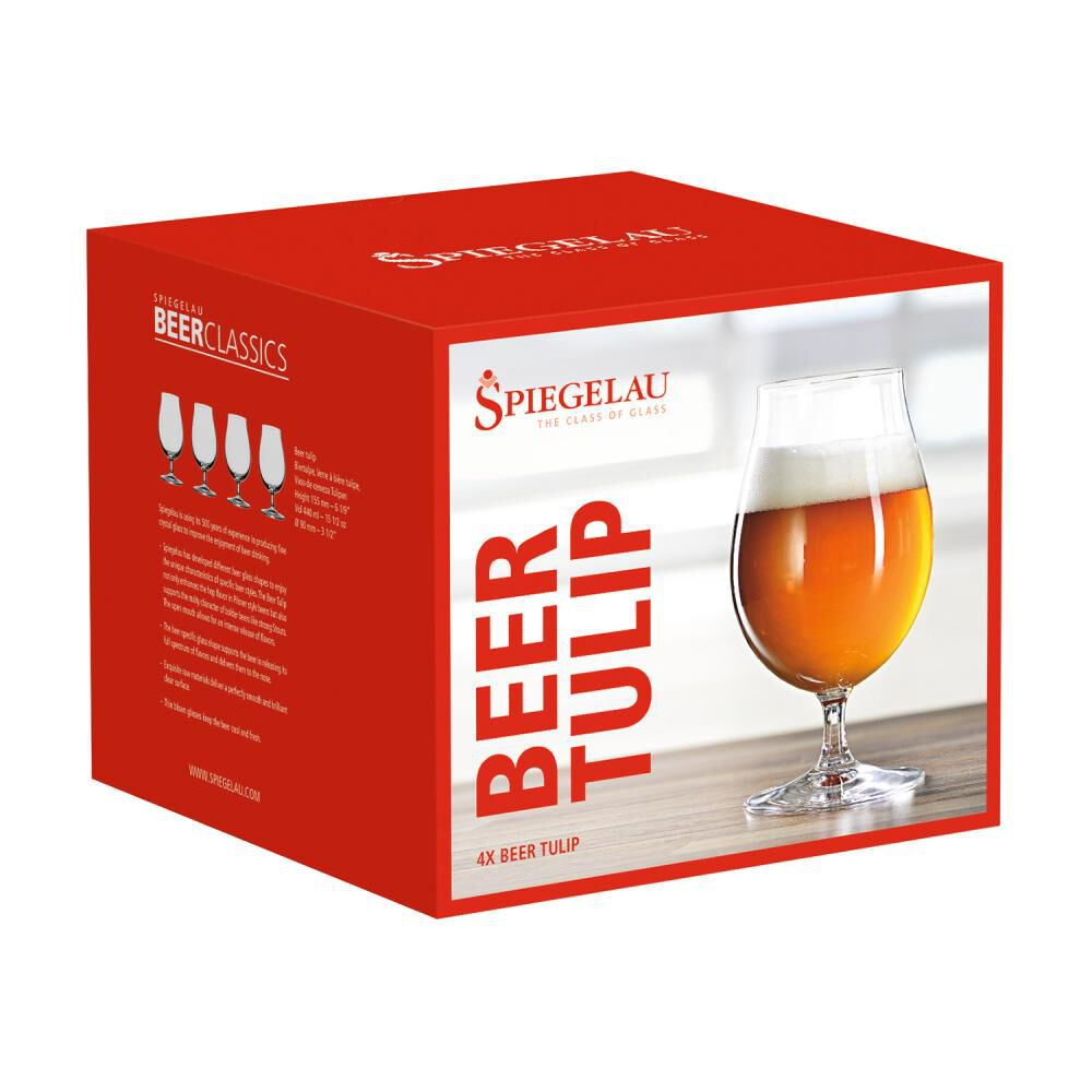 Set De Vasos Spiegelau Cerveceros Tulipa Belga / 4 Piezas image number 2.0