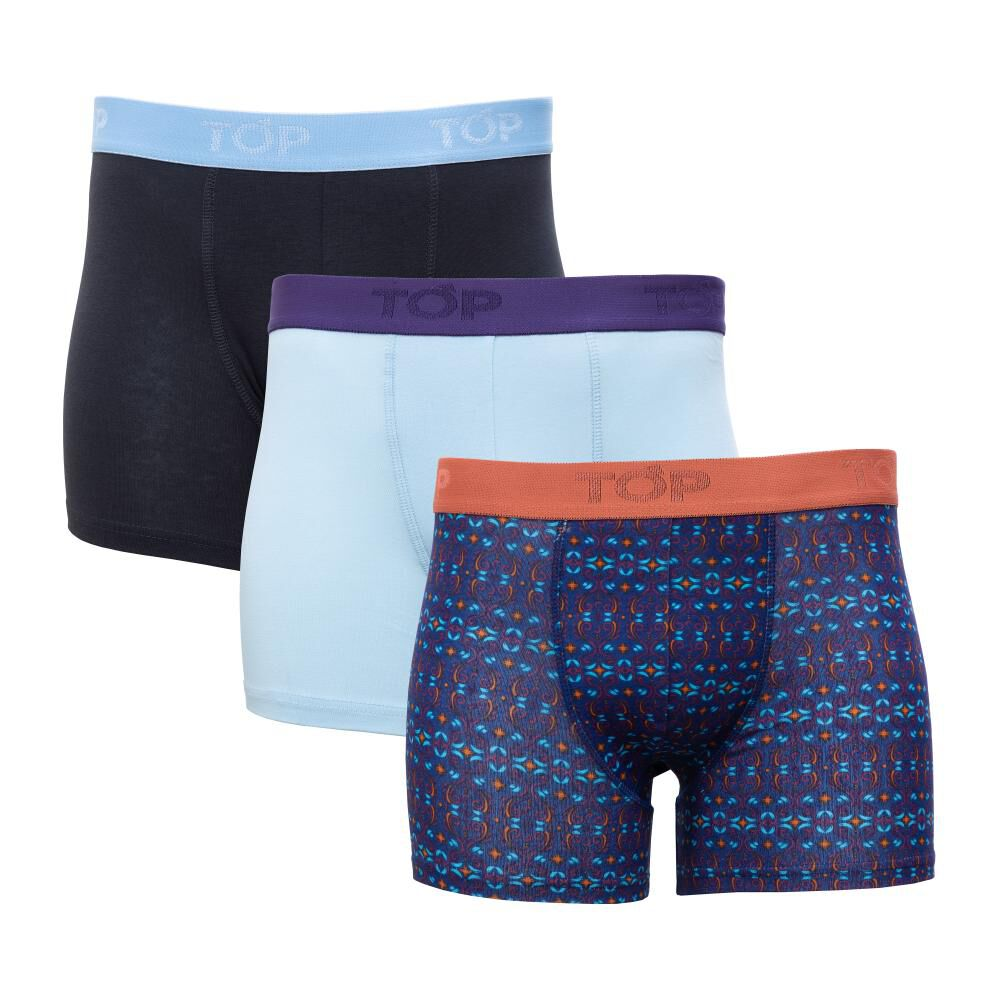 Pack Boxer Unisex Top / 3 Unidades image number 0.0